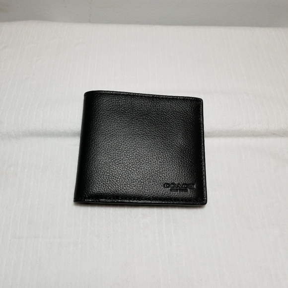 Coach Other - coach  men's billfold black wallet